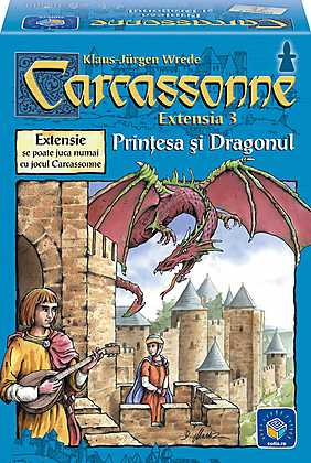 Extensie Carcassonne Printesa si dragonul