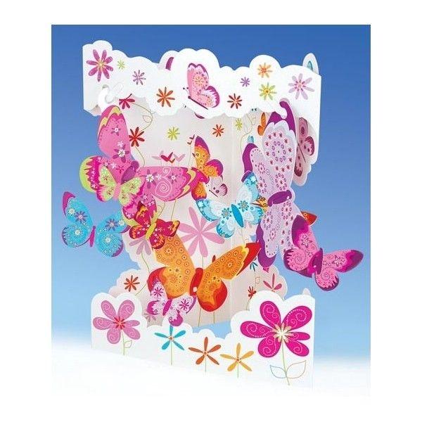 Felicitare 3D Butterflies