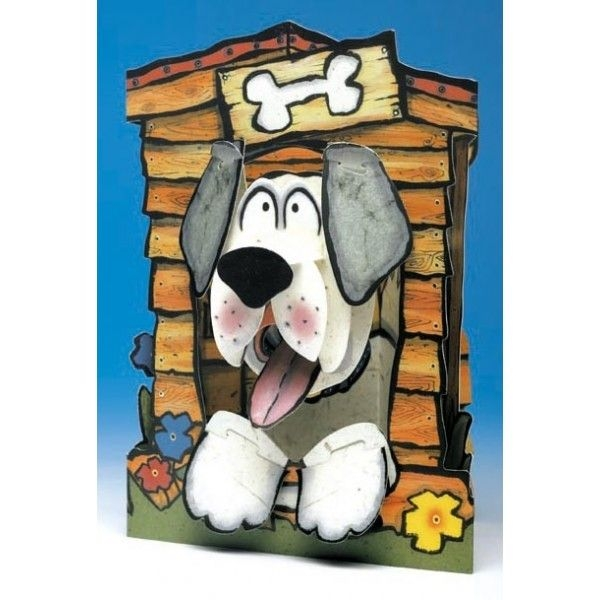 Felicitare 3D GC-DOG