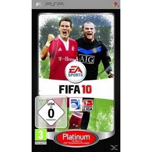 FIFA 10 PLATINUM PSP