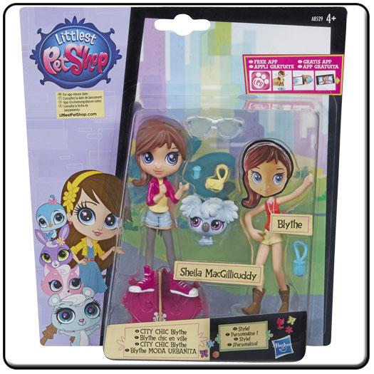Figurina Blythe cu accesorii,Littlest Pet Shop