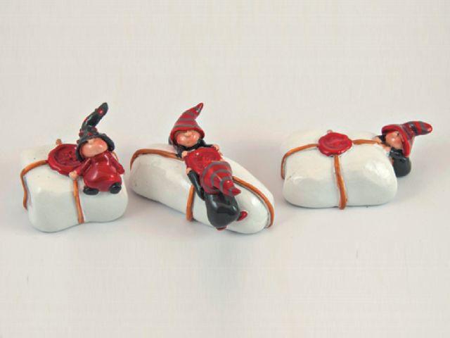 Figurina de ceramica pachet 6cm