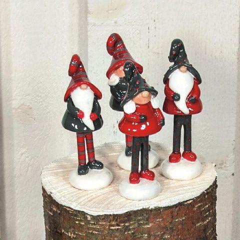Figurina de ceramica pitic picioare 9cm