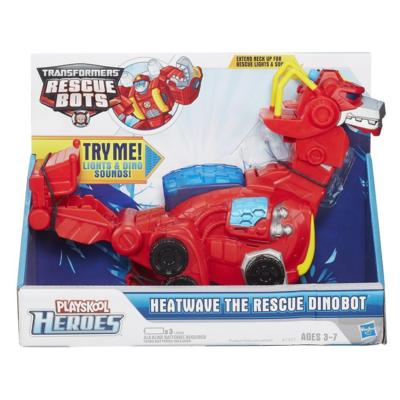 Figurina Dino-Bot Heatwave