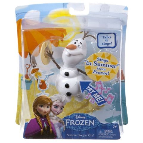 Figurina Frozen,Olaf cantaret