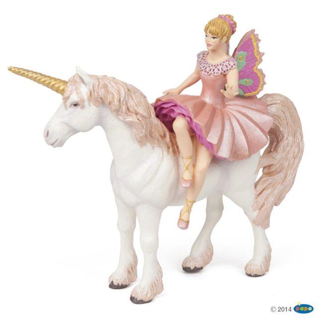 Figurina Papo,balerina si unicorn