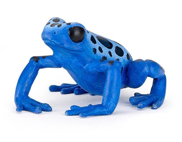 Figurina Papo,broasca ecuatoriala,albastra