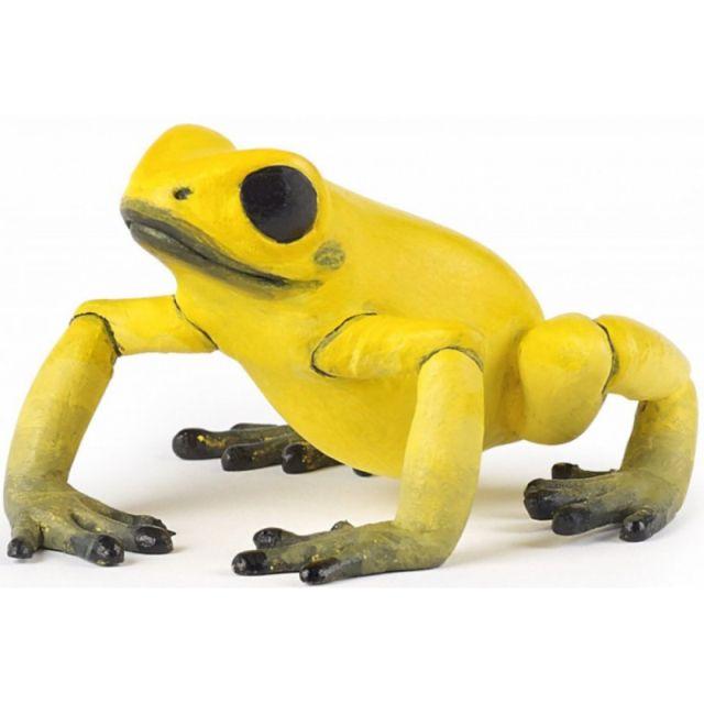 Figurina Papo,broasca ecuatoriala,galbena