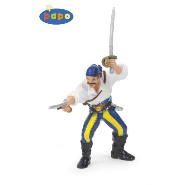 Figurina Papo,corsar cu tun 2