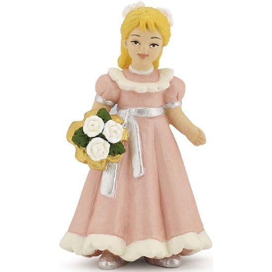 Figurina Papo,domnisoara de onoare