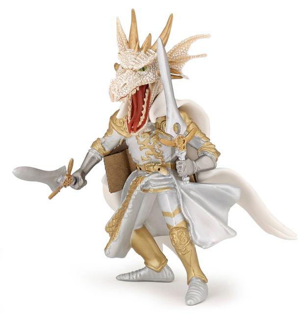 Figurina Papo,dragon alb