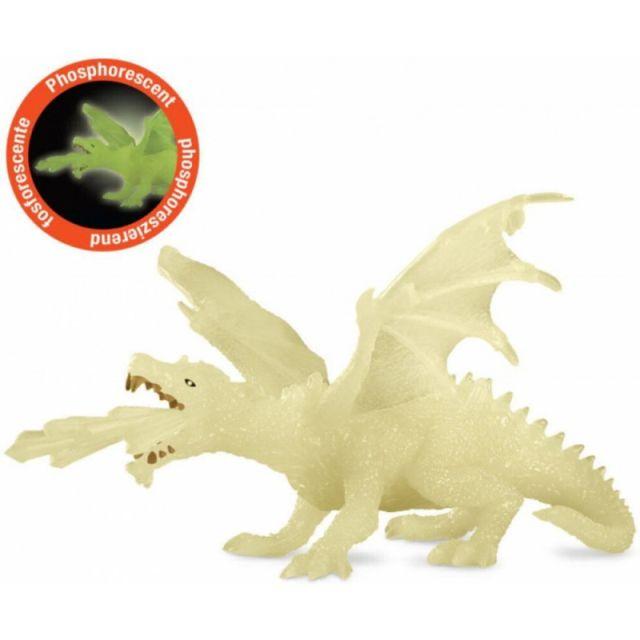 Figurina Papo,dragon fosforescent