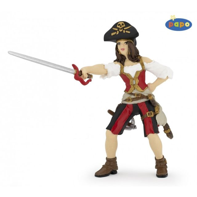 Figurina Papo,femeie pirat 2