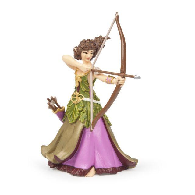 Figurina Papo,femeie vanator