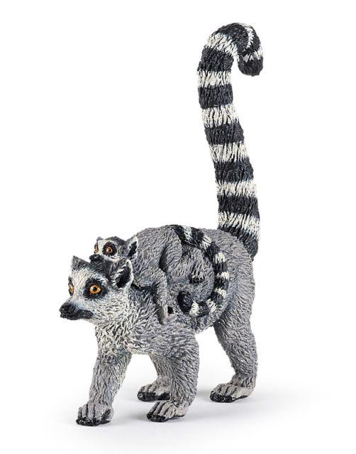 Figurina Papo,lemur pui