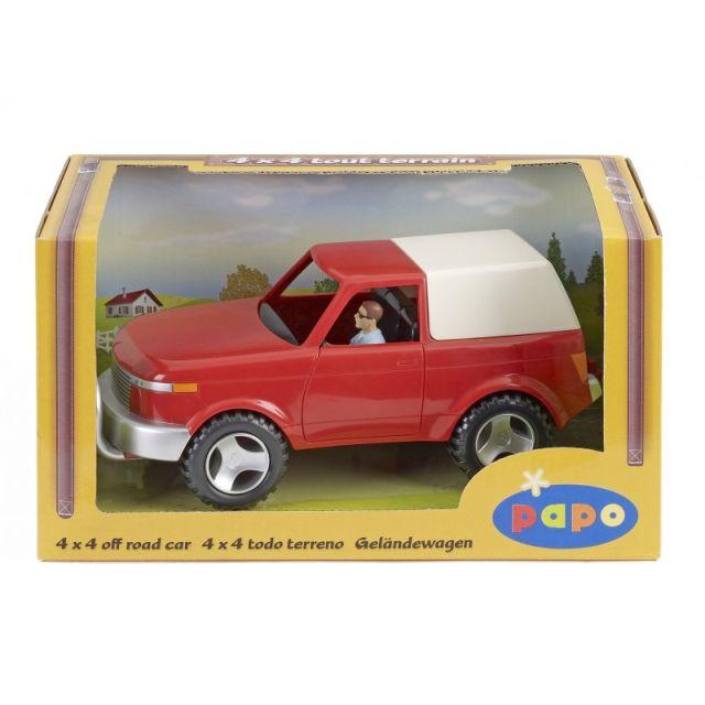 Figurina Papo,masina 4x4,cu sofer