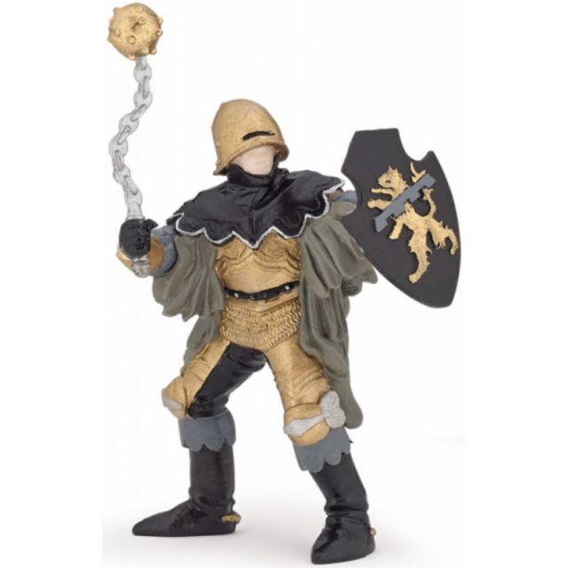 Figurina Papo,ofiter cu ghioaga,negru/bronz