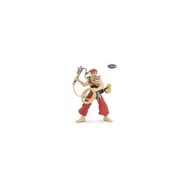 Figurina Papo,pirat cu ancora 2