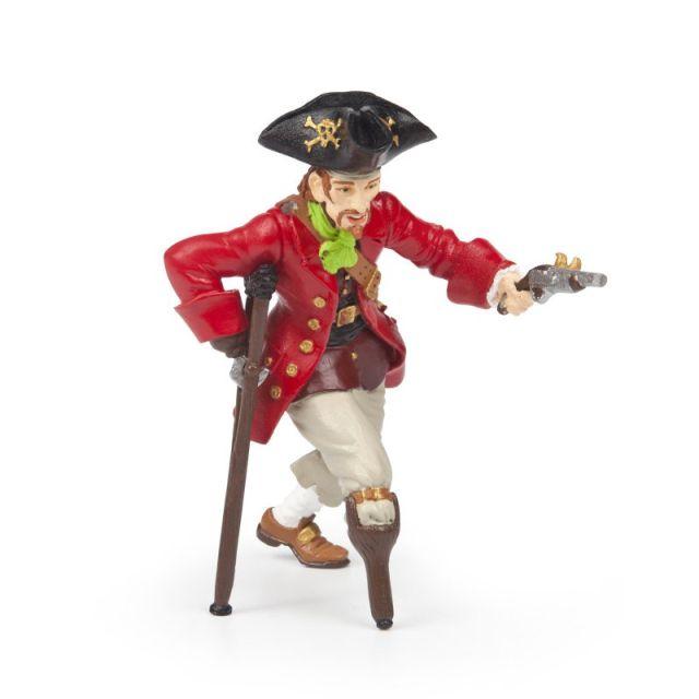 Figurina Papo,pirat cu picior de lemn
