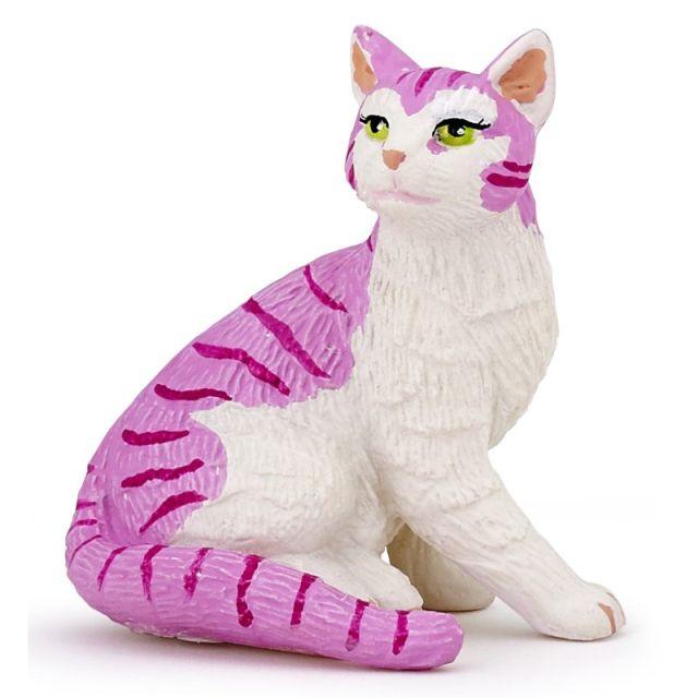 Figurina Papo,pisica cu clopotei