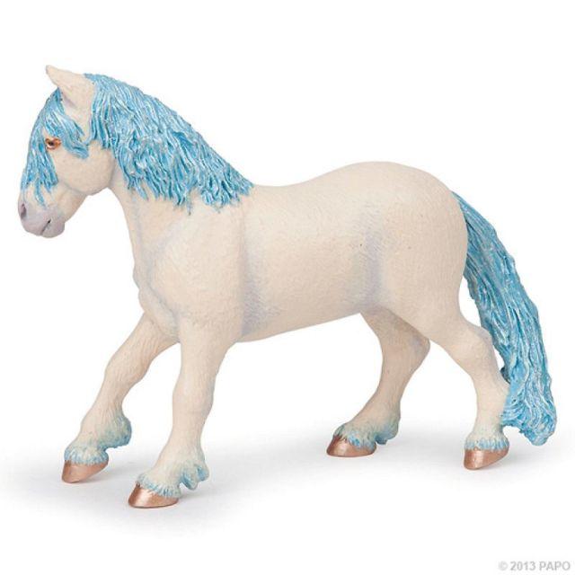Figurina Papo,poneiul zanei,bleu