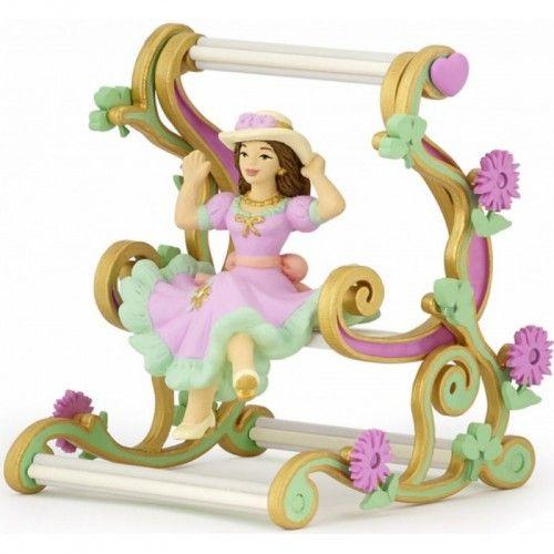 Figurina Papo,printesa in balansoar