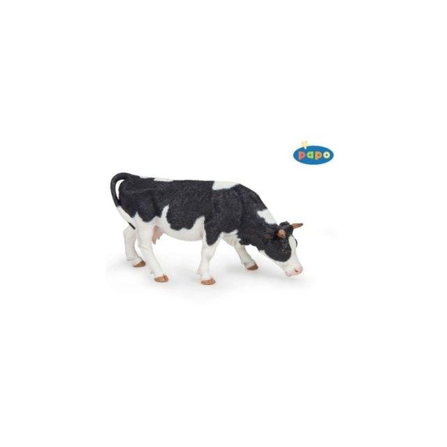 Figurina Papo,vaca alb-negru