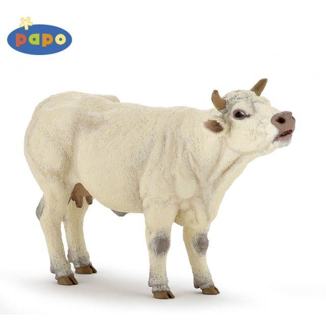 Figurina Papo,vaca Charolais