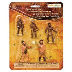 Figurina Safari,evolutia omului,set