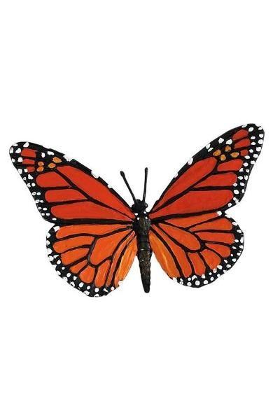 Figurina Safari,fluture Monarch,8.25cm