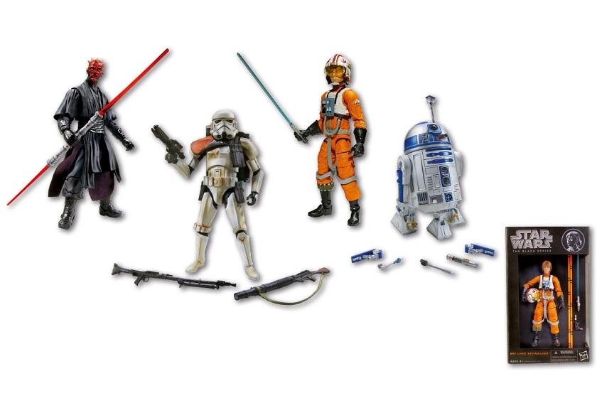 Figurina Star Wars Black, 15 cm