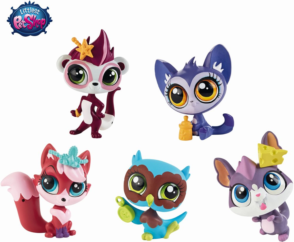 Figurina tip B,Littlest Pet Shop