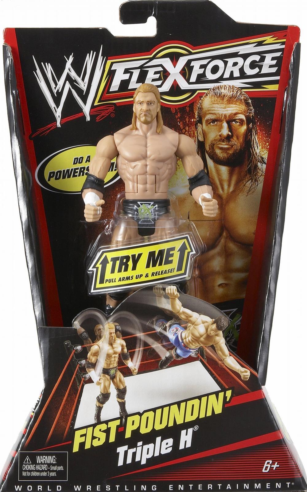 Figurina WWE flexibila Action Play