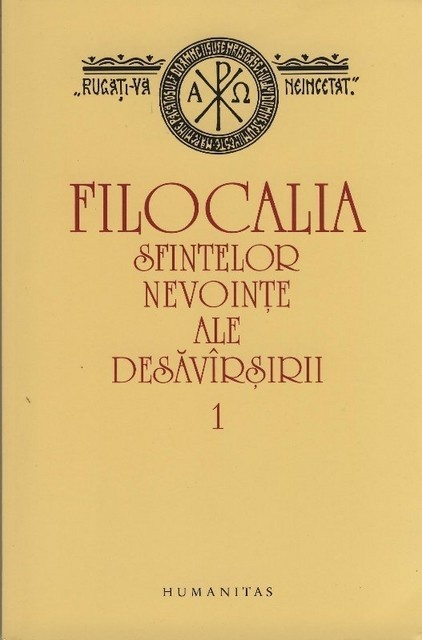 FILOCALIA I-reedit .