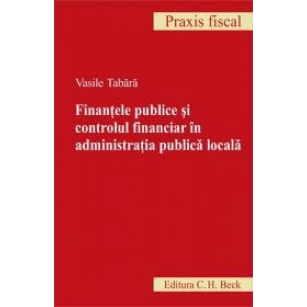FINANTE PUBLICE SI CONTROLUL FINANCIAR IN ADM. PUBLICA LOCALA