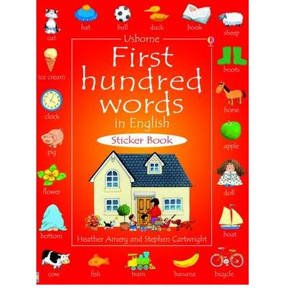 FIRST HUNDRED WORDS STICKER BOOK