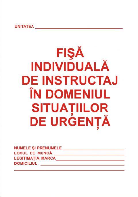 Fisa instructaj situatii de urgenta,A5