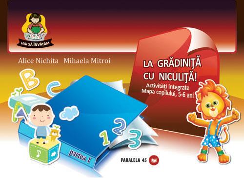 Fise gradinita 5-6 ani: Om si societate - Alice Nichita, Mihaela Mitroi