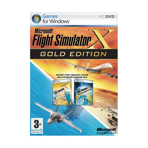 FLIGHT SIMULATOR X GOLD PC