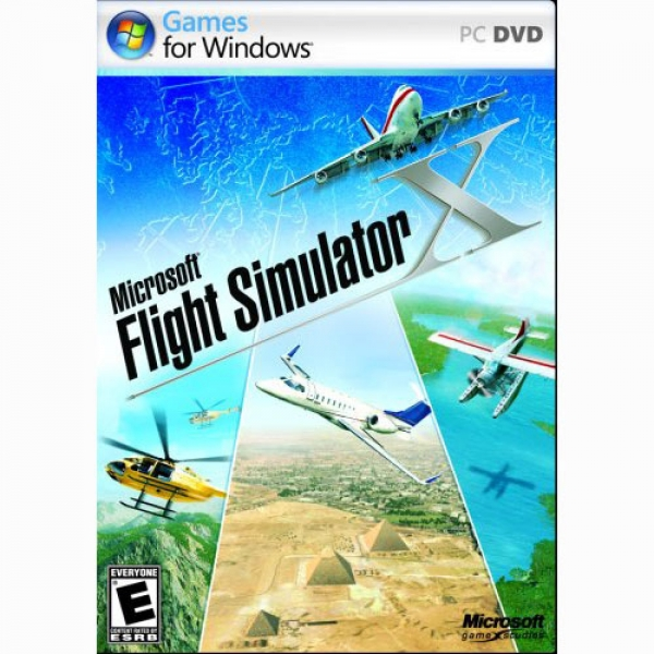 FLIGHT SIMULATOR X PC & MOUSE CONFORT 4500