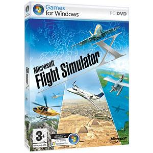 FLIGHT SIMULATOR X PC & Wired 600 Kit Tast+Mo