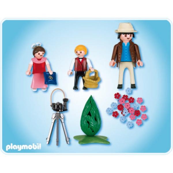 Playmobil, Fotograf Cu Fata Cu Flori