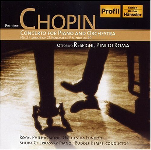 FREDERIC CHOPIN CONCERT NO.2 IN F MINOR