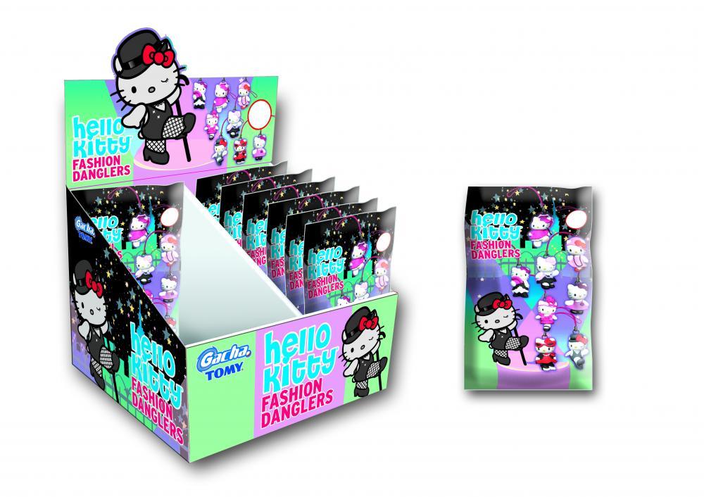 zzGacha Hello Kitty de agatat, saculet