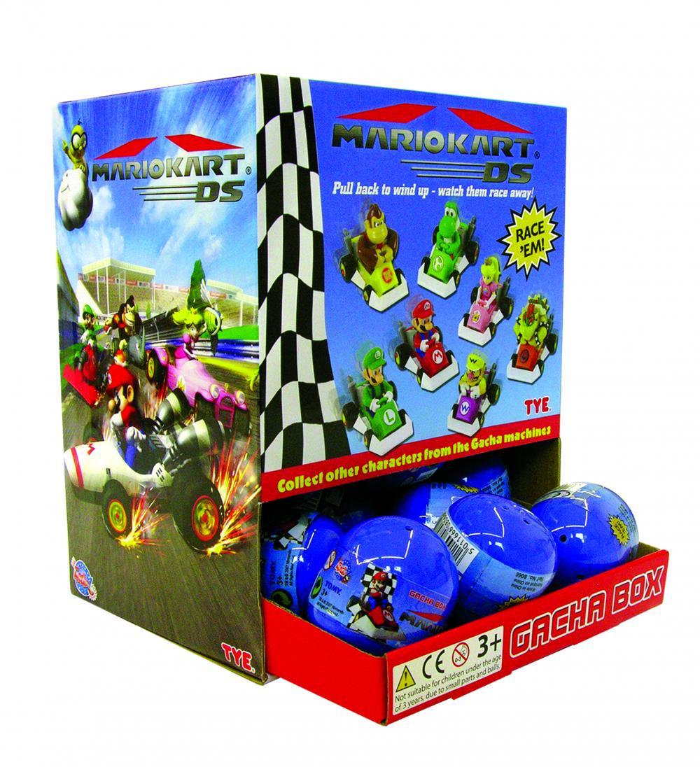 Gacha Mario Karts masinute, capsule