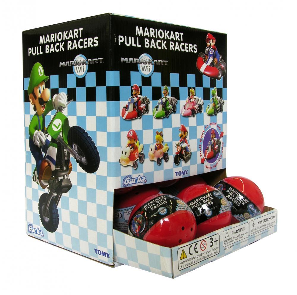 Gacha Masini Mario Kart, capsule