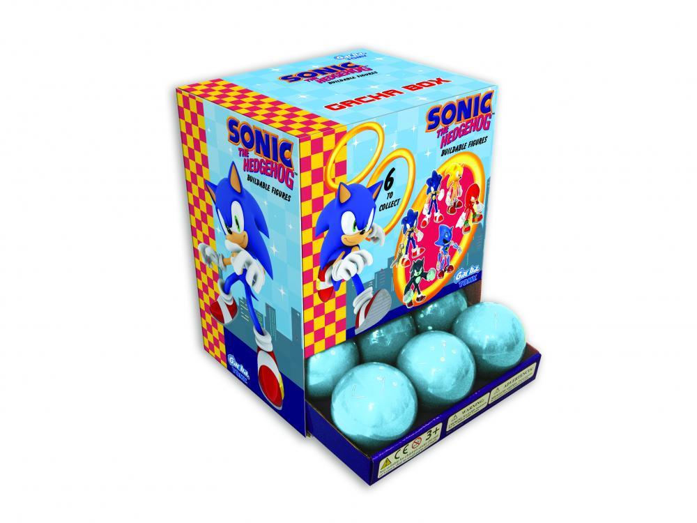 Gacha Sonic figurine, capsule