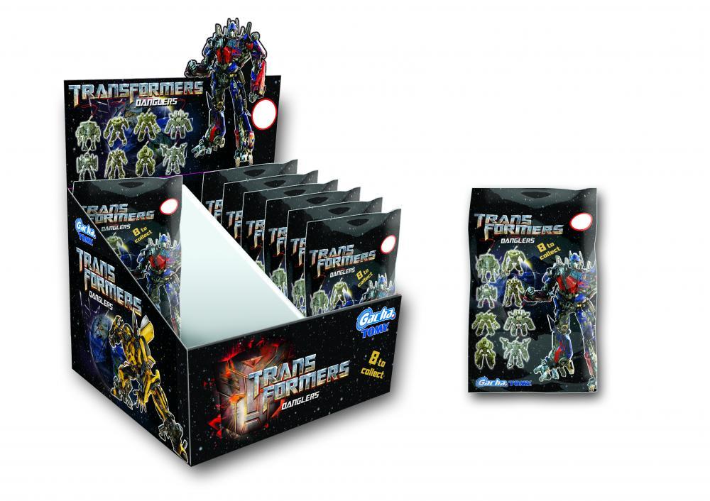 Gacha Transformers 3 de agatat, saculet