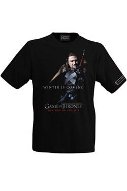 Game of Thrones T-Shirt Eddard Stark II Size XL