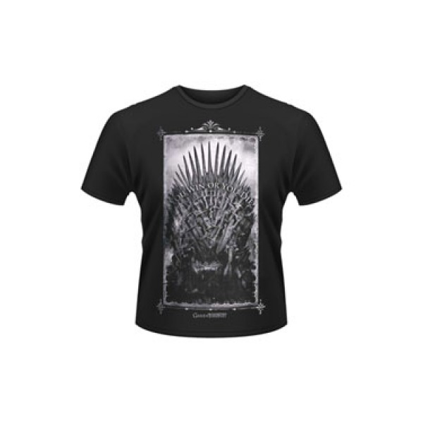 Game of Thrones T-Shirt Win or Die Size M